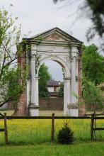 Arco rinascimentale di villa Pisani